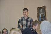 Серьезный разговор в Воскресной школе собора