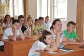 Беседа с участниками слета «Дети небесного града» о преподобной Зосиме Эннатской