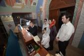 Епископ Салаватский и Кумертауский Николай совершил утреню с акафистом св. прав. Иоанну Кронштадтскому