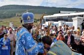 Преосвященнейший владыка НИКОЛАЙ совершил Божественную Литургию в селе Верхней Авзян Белорецкого района