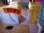 Замена полов в Алтаре Храма Покрова Пресвятой Богородицы села Ерлыково