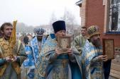 Архиерейское богослужение в Богородице-Казанском храме с. Федоровка Федоровского района