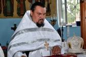 В день памяти преподобномученицы игумении Маргариты Гунаронуло Преосвященнейший епископ Николай совершил Литургию в Марфо-Мариинском женском монастыре с. Ира