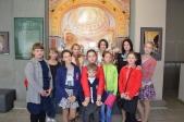 Посещение международной фотовыставки «Патриарх. Служение Богу, Церкви, людям»