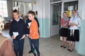 Акция по раздаче информационных листовок в Казанском храме г.Мелеуза