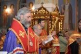 Владыка Николай совершил утреню с акафистом великомученице Анастасии Узорешительнице
