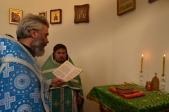 Преосвященнейший епископ Николай совершил Литургию в часовне на о. Аслы-куль
