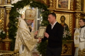 Преосвященнейший епископ Николай совершил Божественную литургию святителя Василия Великого в Успенском кафедральном соборе