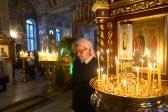 В Рождественский сочельник Преосвященнейший епископ Николай совершил Литургию в Успенском кафедральном соборе