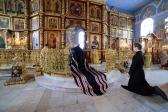 Преосвященнейший епископ Николай совершил вечерню с чином прощения в Успенском кафедральном соборе