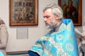 """Епископ Николай совершил молебное пение с акафистом пред иконой Божией Матери, именуемой """"Неупиваемая Чаша"""", в Свято-Троицком храме г.Ишимбая"""