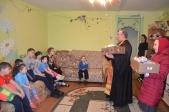 Посещение приюта в день Светлой Пасхи