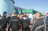 В храме при ФКУ ИК-№4 УФСИН РФ по РБ были совершены Пасхальные богослужения и Крестный ход