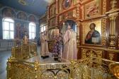 Преосвященнейший епископ Николай совершил Всенощное бдение в Успенском кафедральном соборе