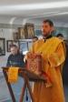 Ко Дню милосердия ко всем во узах находящимся, Владыка Николай совершил Литургию в храме при  ФКУ ЛИУ-№19 УФСИН РФ по РБ.