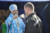 Архипастырское богослужение в ФКУ ИК-16 ФСИН РФ по РБ