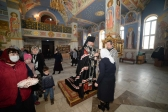 Преосвященнейший епископ Николай совершил пассию в Успенском кафедральном соборе