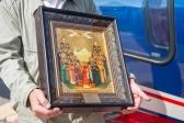 Преосвященнейший епископ Салаватский и Кумертауский Николай совершил воздушный крестный ход над городом Салаватом
