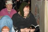 Преосвященнейший епископ Николай совершил Великое повечерие с чтением Великого канона в Свято-Троицком храме г. Ишимбая