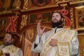 В праздник Рождества Христова Преосвященнейший епископ Николай совершил Литургию в Успенском  кафедральном соборе