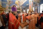 Пасхальная вечерня со встречей Благодатного огня в Успенском кафедральном соборе
