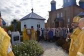 Епископ Николай совершил Божественую литургию в Свято-Тихоновском храме с.Ермолаево
