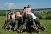 Из жизни слёта казачьих кадетов. Боевое воспитание молодых казачат