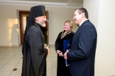 Преосвященнейший епископ Николай посетил концерт Государственной академической хоровой капеллы
