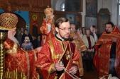 Преосвященнейший епископ Николай совершил Литургию в Марфо-Мариинском женском монастыре с.Ира