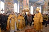 В Неделю 1-ю Великого поста, Торжество Православия, епископ Николай совершил Божественную литургию в Успенском кафедральном соборе