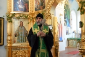 Архипастырское богослужение на епархиальные торжества в Покровском мужском монастыре