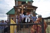 Владыка Николай совершил Литургию в Арсёново