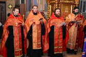 Епископ Салаватский и Кумертауский Николай совершил утреню с акафистом великомученику Димитрию Солунскому в Успенском кафедральном соборе