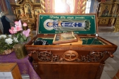 Епископ Николай совершил утреню с акафистом Воскресению Христову в Успенском кафедральном соборе