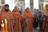 Божественная литургия в Иоанно-Предтеченском соборном храме г.Кумертау