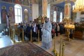 В Великую Субботу Преосвященнейший епископ Николай совершил Литургию Василия Великого в Успенском соборе Салавата