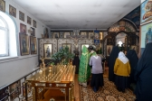 В четверг седмицы 2-й Великого поста Преосвященнейший епископ Николай совершил Литургию Преждеосвященных Даров в Покровском монастыре с.Дедово