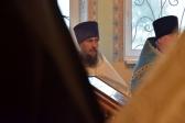 Епископ Николай совершил чин великого освящения храма в честь Святой равноапостольной кн. Ольги Покровского мужского монастыря