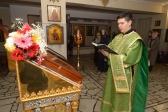 Всенощное бдение в канун дня памяти блгв.князя Димитрия Донского в нижнем приделе Успенского кафедрального собора