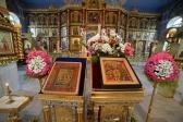 Преосвященнейший епископ Николай совершил Всенощное бдение с Акафистом вмч. Георгию Победоносцу в Успенском кафедральном соборе