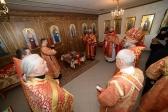 Архипастырь совершил Божественную литургию в часовне на старом городском кладбище в 116-м квартале в Салавате