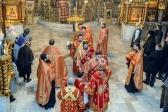 Всенощное бдение в Успенском кафедральном соборе возглавил Преосвященнейший Владыка Николай