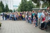 Клирики собора традиционно приняли участие в торжественном мероприятии, посвященном дню Воздушно-десантных войск России, в г. Салават
