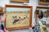 Открылась выставка работ художника Храмова Алексея Васильевича