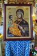 В Успенский кафедральный собор для поклонения верующих прибыла икона со святой горы Афон