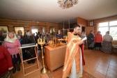 Преосвященнейший Николай совершил Литургию и панихиду в храме святой мученицы царицы Александры на новом кладбище г. Салавата