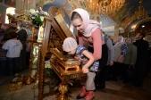 В праздник Благовещения Пресвятой Богородицы Преосвященнейший епископ Николай совершил Литургию в Успенском соборе г.Салавата