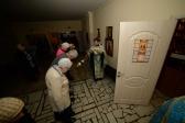"""Преосвященнейший епископ Николай совершил утреню с акафистом пред иконой Божией Матери, именуемой """"Табынская"""", в Успенском кафедральном соборе"""