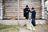 Освящение куполов строящегося Успенского храма с. Бугульчан