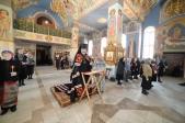 Владыка Николай совершил утреню с чтением Великого покаянного канона Андрея Критского в Успенском соборе